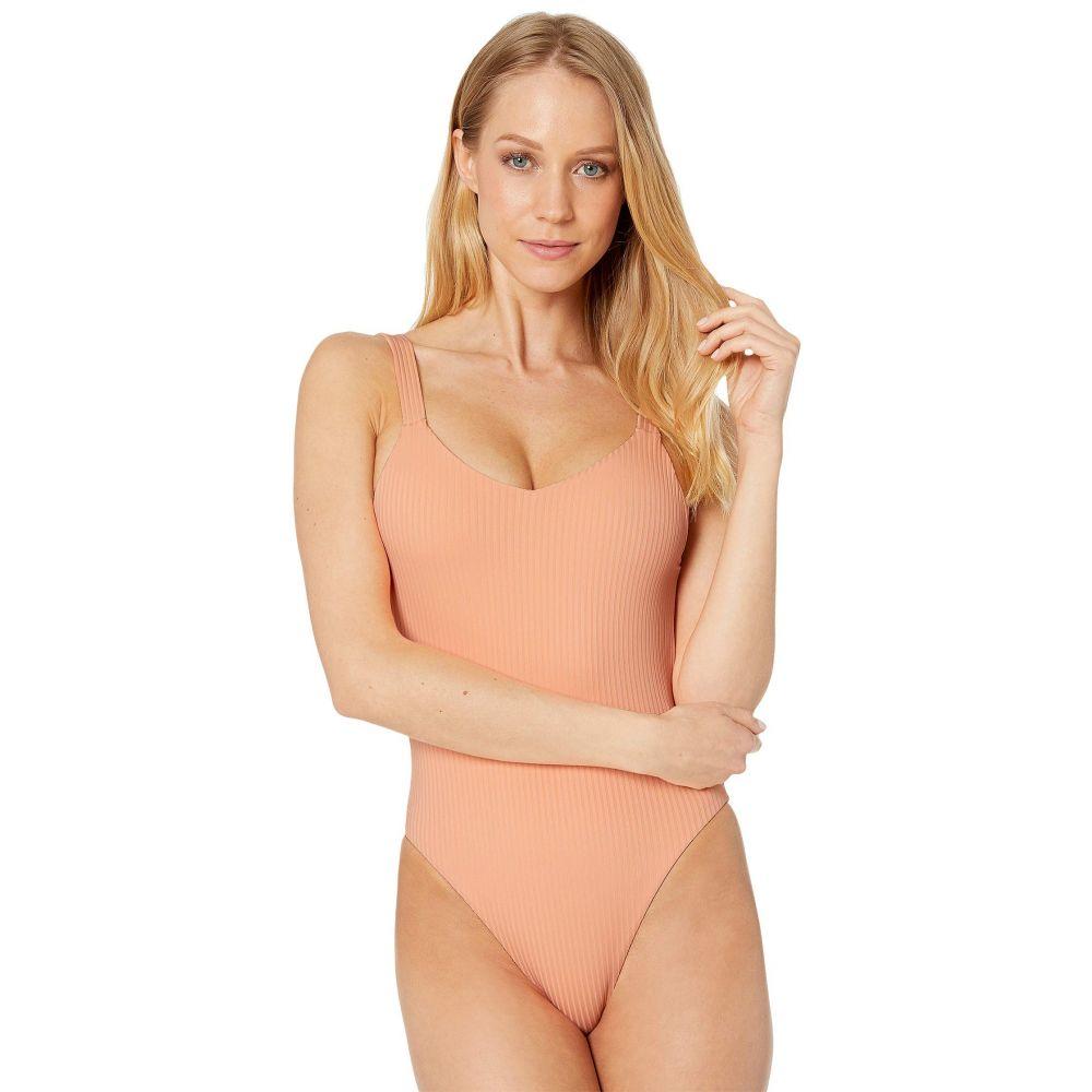 ビタミン A Vitamin A Swimwear レディース 水着・ビーチウェア ワンピース【Leah Bodysuit】Nectar Refresh Rib