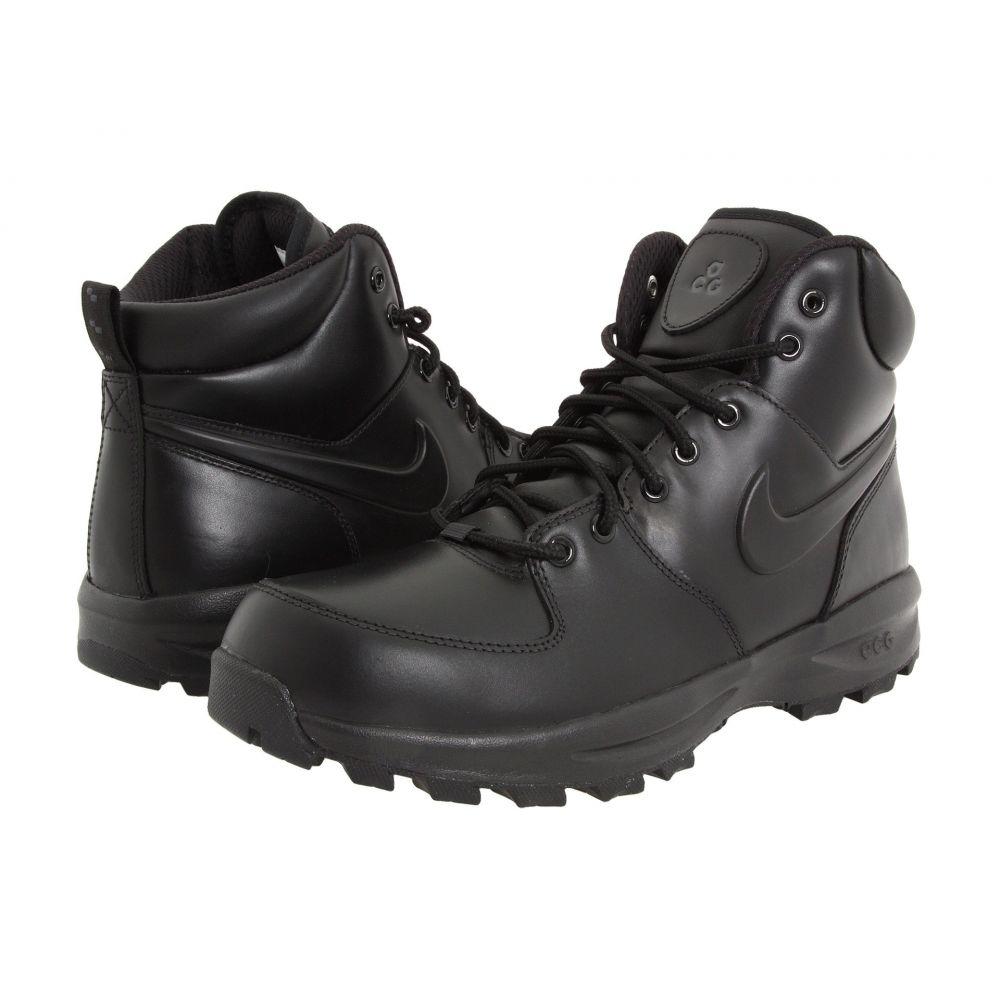 ナイキ Nike メンズ ハイキング・登山 シューズ・靴【Manoa Leather】Black/Black/Black