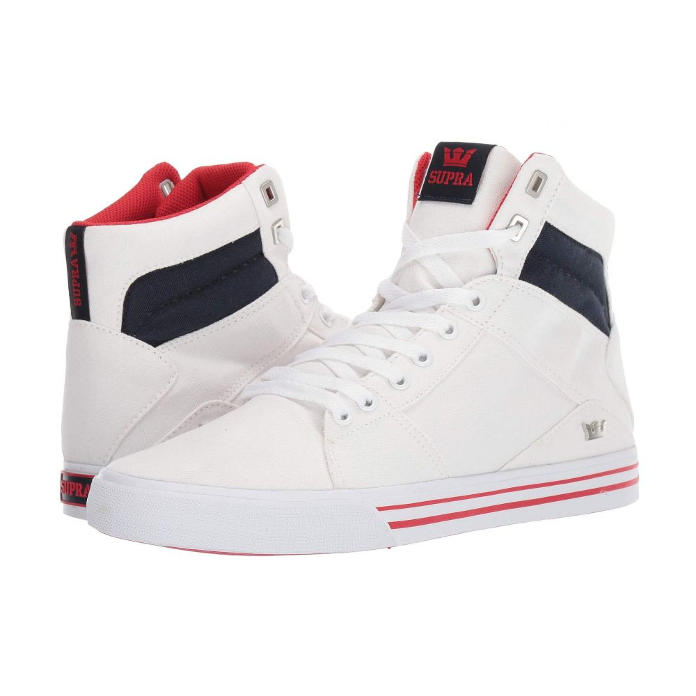 スープラ Supra メンズ シューズ・靴【Aluminum】Navy/Star/White