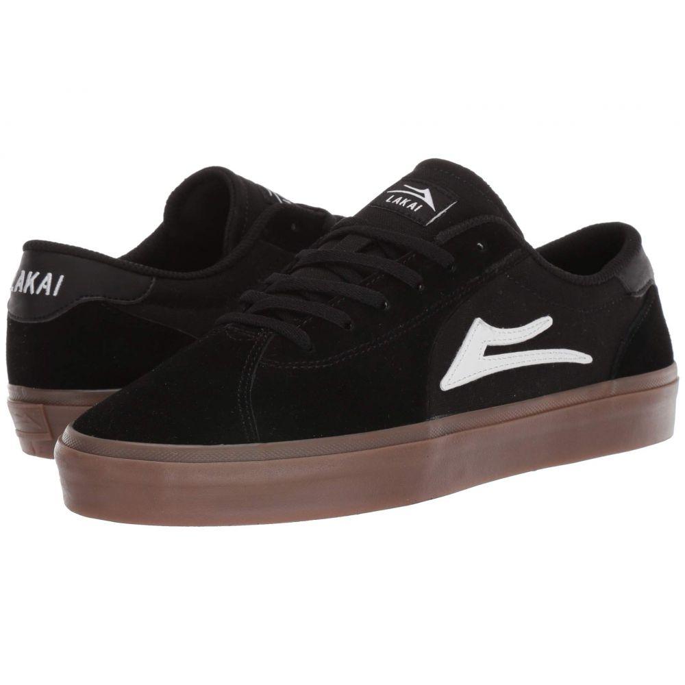 ラカイ Lakai メンズ シューズ・靴【Flaco II】Black/Gum Suede