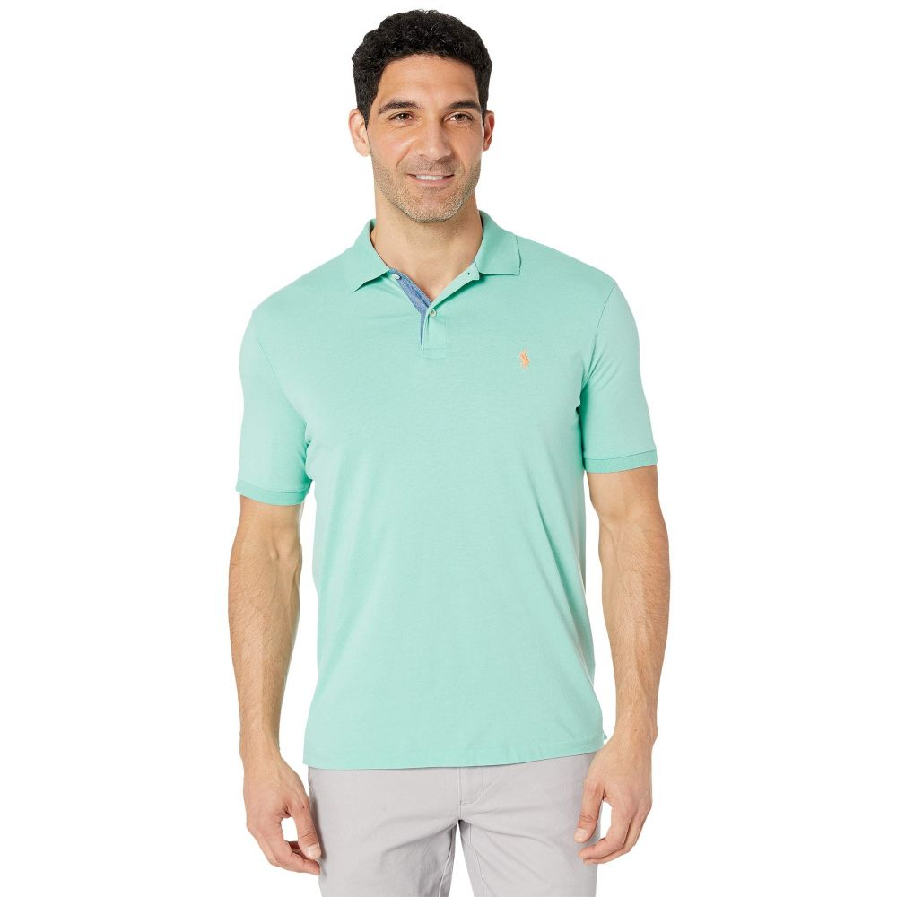 ラルフ ローレン Polo Ralph Lauren メンズ トップス ポロシャツ【Short Sleeve Jersey Polo - Classic】Bayside Green