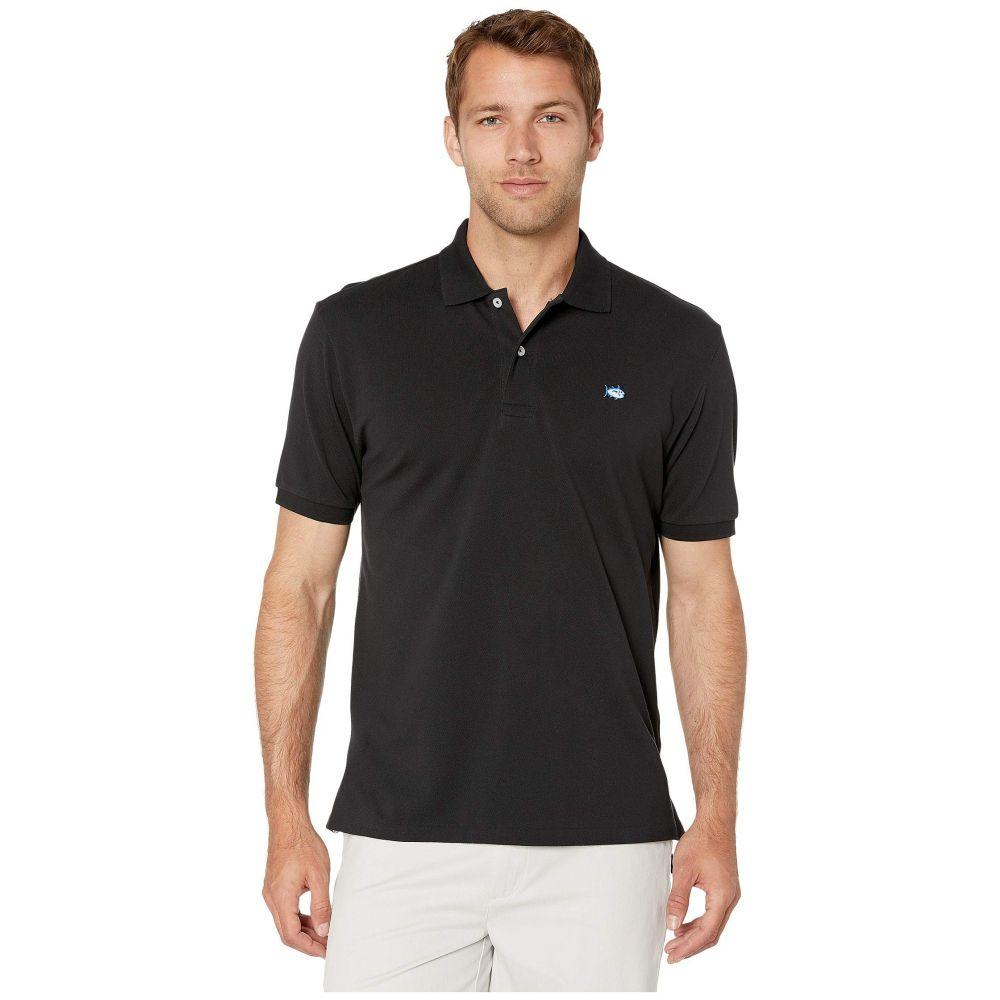サザンタイド メンズ トップス 販売期間 限定のお得なタイムセール ポロシャツ Midnight Black サイズ交換無料 人気の製品 Southern Polo Shirt Sleeve Skipjack Short Tide