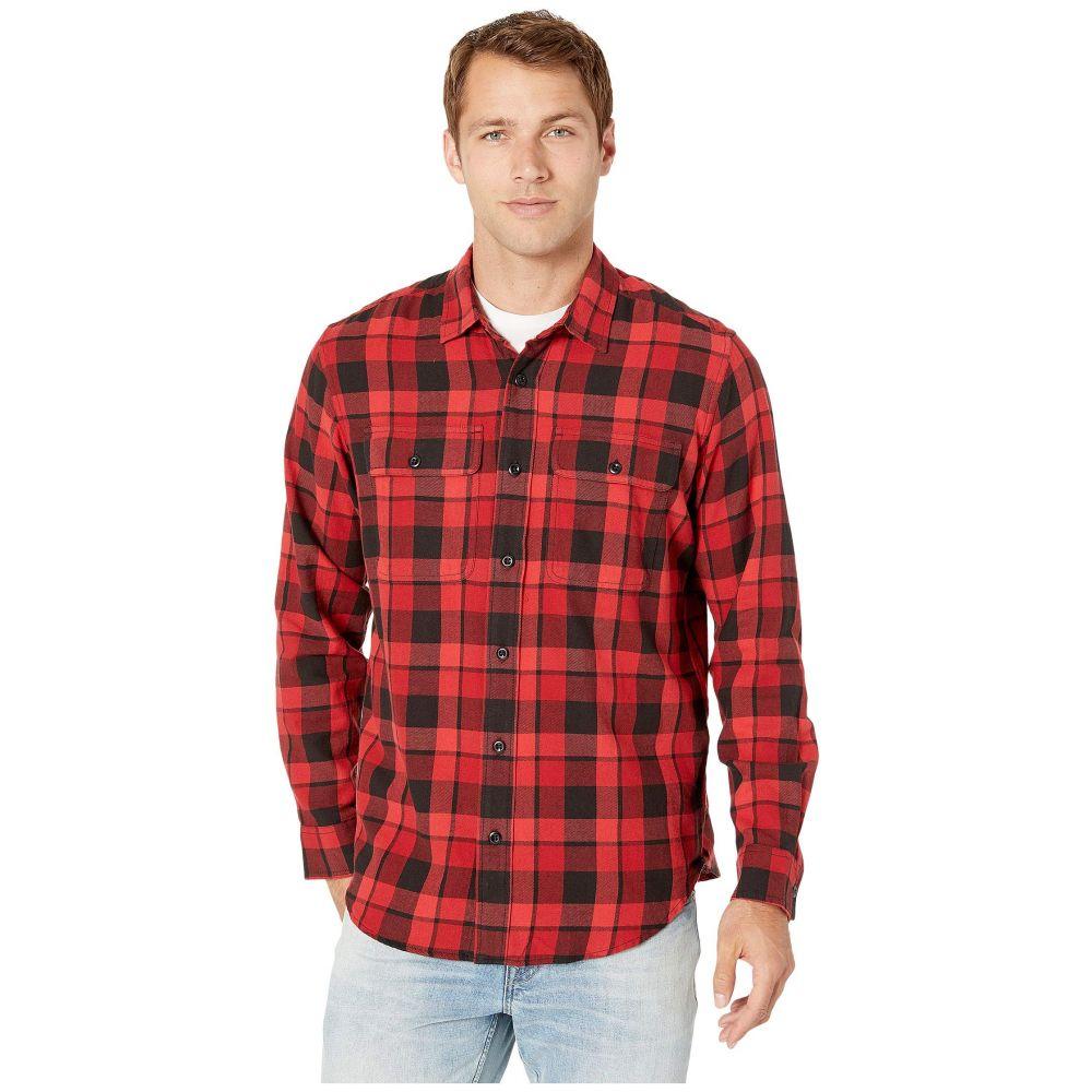 フィルソン Filson メンズ トップス シャツ【Scout Shirt】Black/Sacrlet