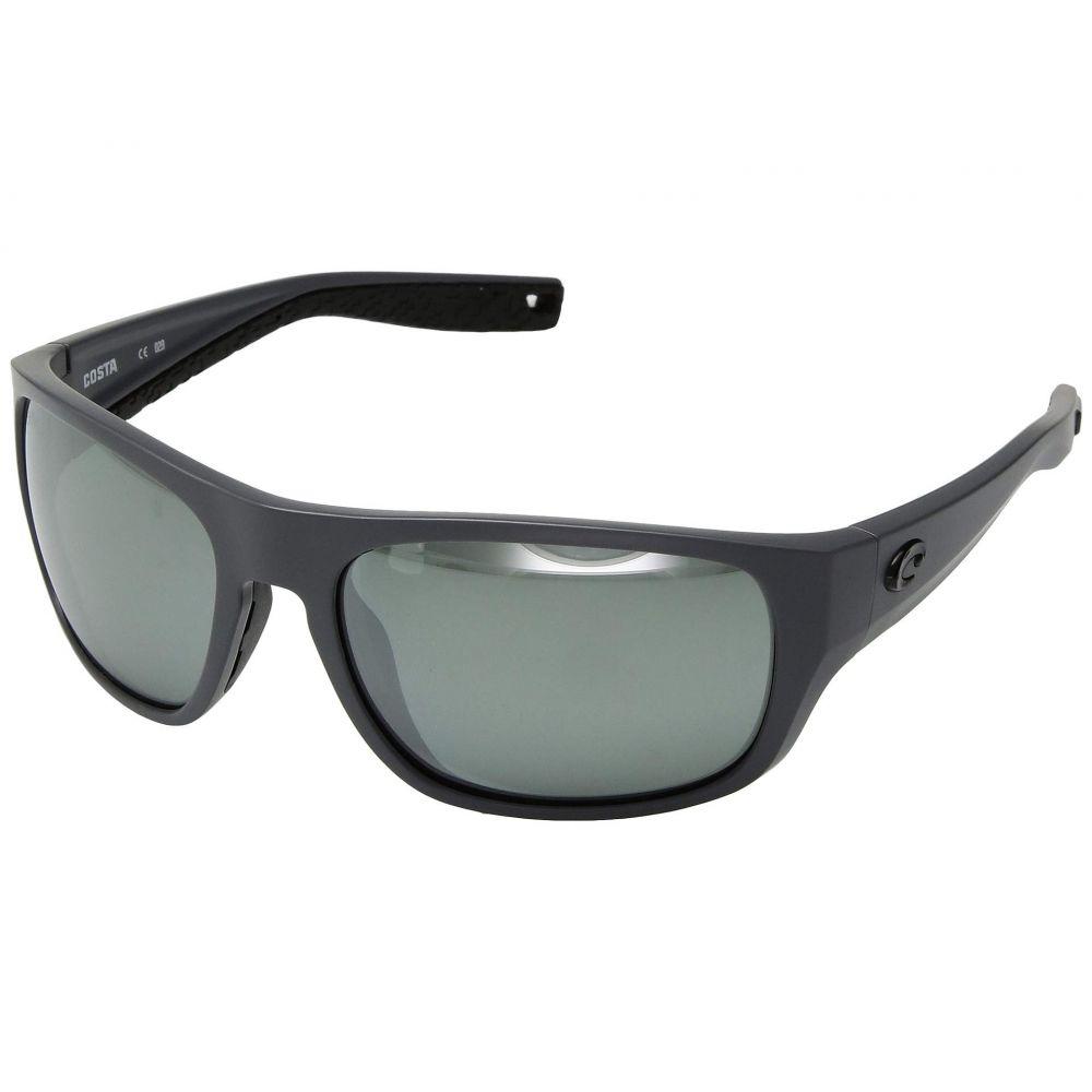 コスタ Costa レディース メガネ・サングラス【Tico】Gray Silver Mirror 580G/Matte Gray Frame