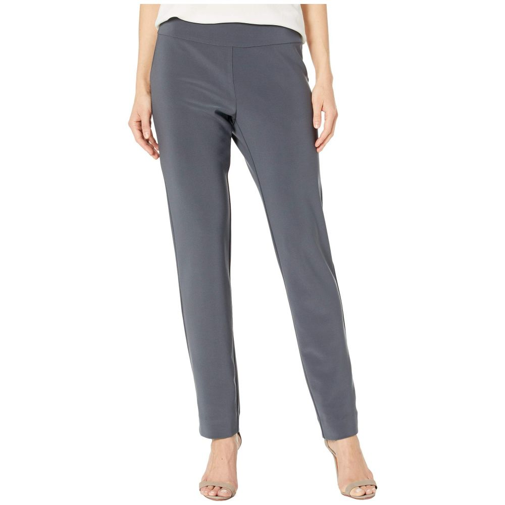 クレイジーラリー Krazy Larry レディース ボトムス・パンツ【Microfiber Long Skinny Dress Pants】Grey