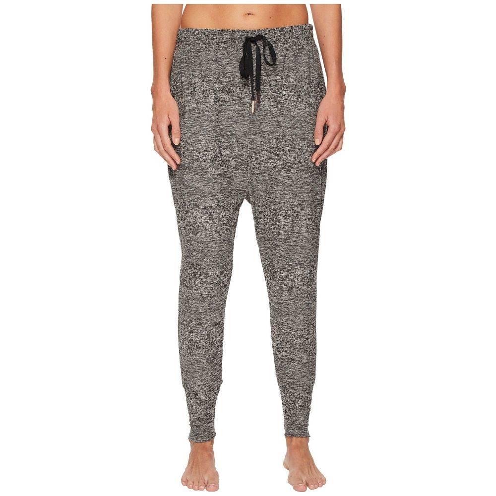 ビヨンドヨガ Beyond Yoga レディース ボトムス・パンツ【Weekend Traveler Midi Sweatpants】Black/White Spacedye