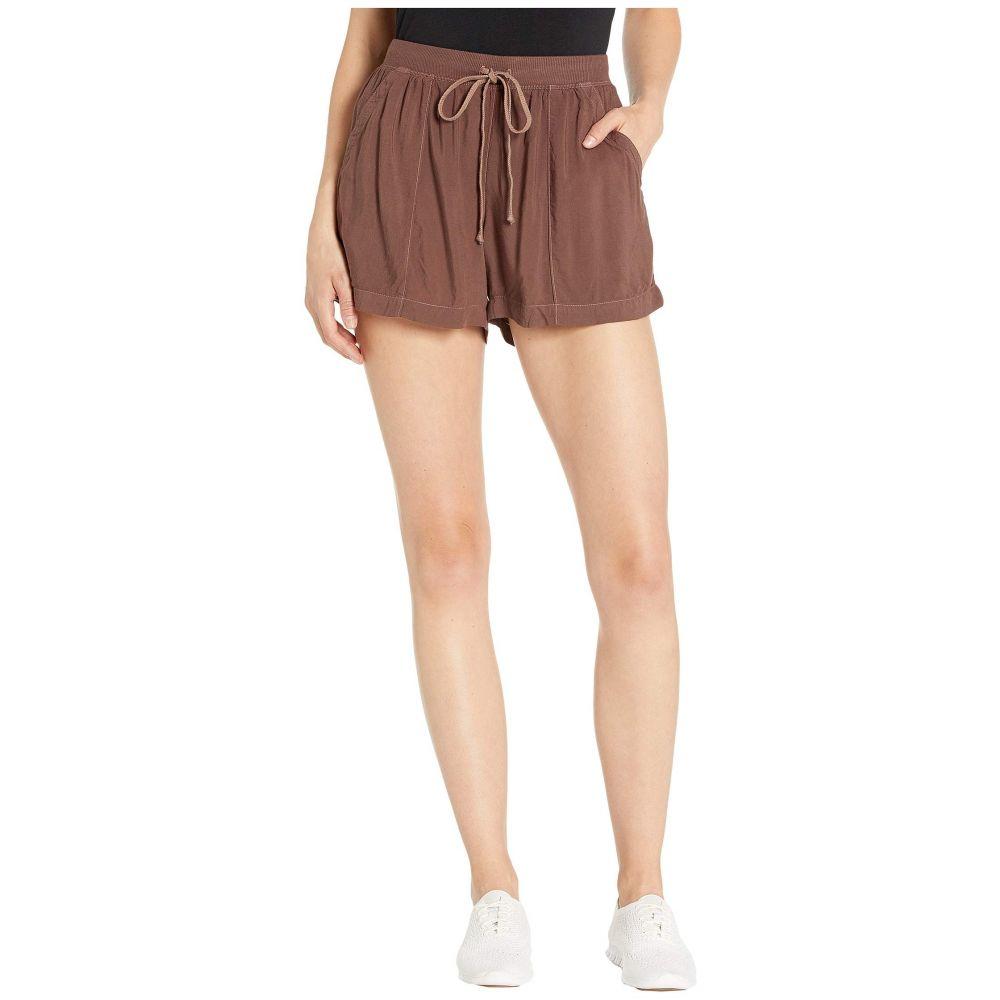 ハードテイル Hard Tail レディース ボトムス・パンツ ショートパンツ【Drawstring Pocket Shorts】Mocha