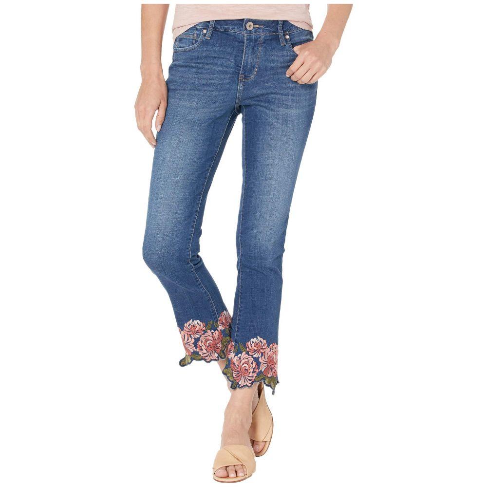 ジャグ ジーンズ Jag Jeans レディース ボトムス・パンツ ジーンズ・デニム【Ellis Cropped Boot Jeans w/ Embroidery in Brilliant Blue】Brilliant Blue