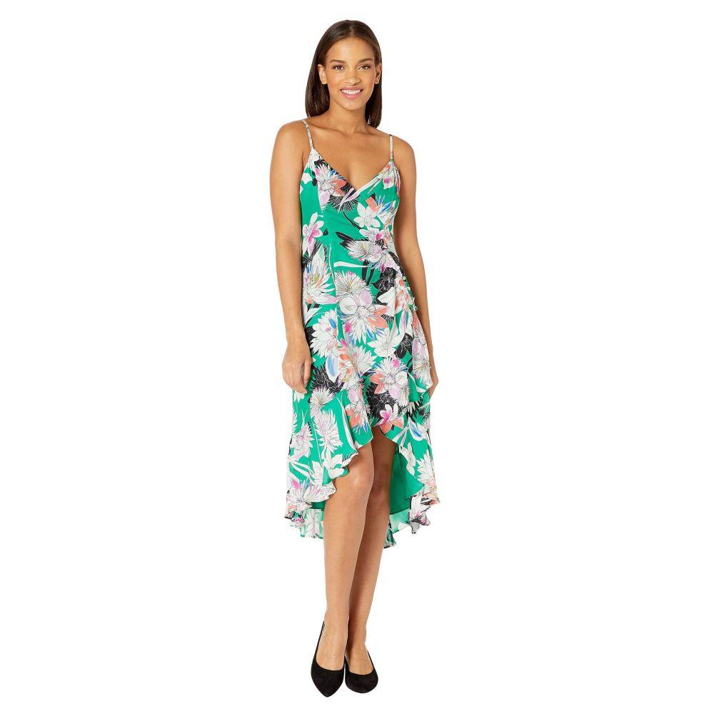 パーカー Parker レディース ワンピース・ドレス ワンピース【Colleen Dress】Emerald Hibiscus