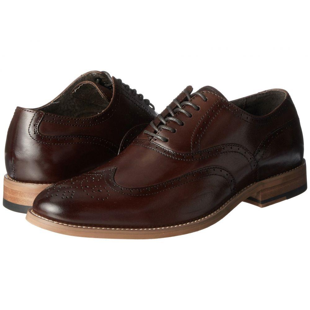 ステイシー アダムス Stacy Adams メンズ シューズ・靴 革靴・ビジネスシューズ【Dunbar Wingtip Oxford】Brown