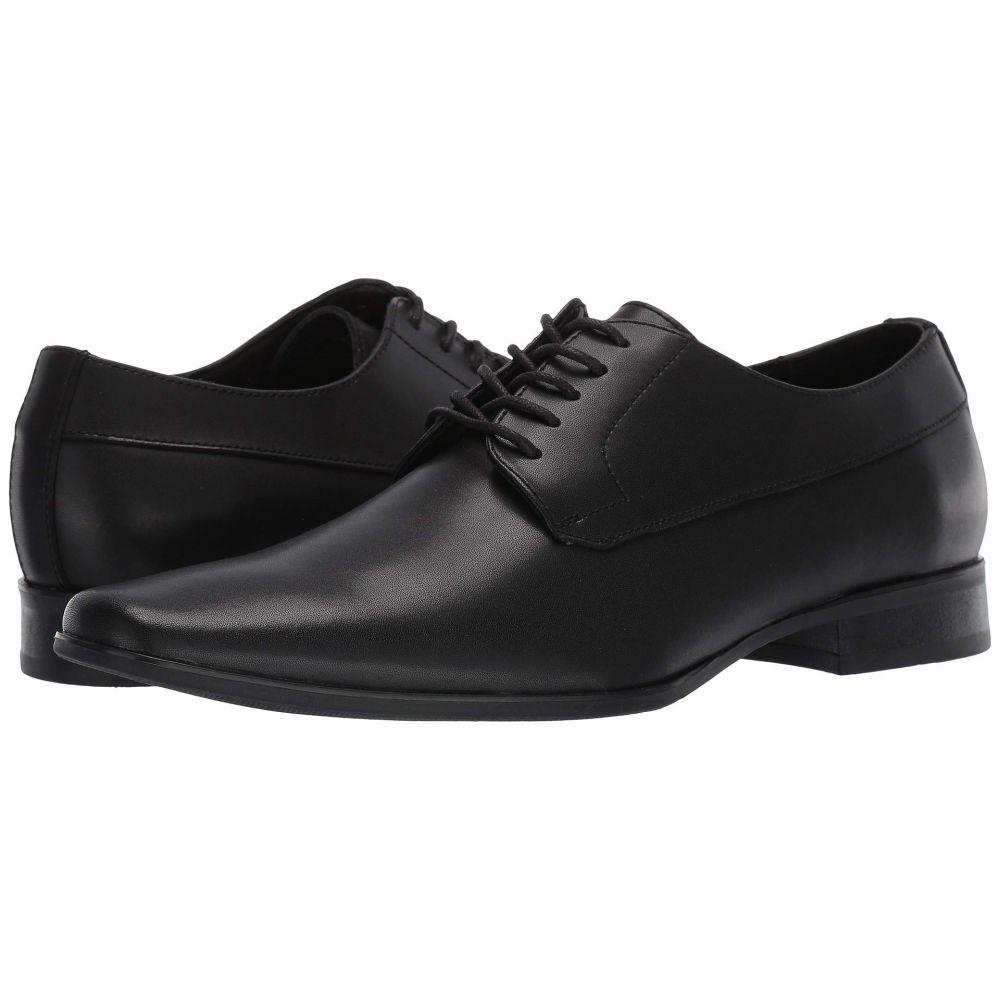 カルバンクライン Calvin Klein メンズ シューズ・靴 革靴・ビジネスシューズ【Birk】Black Dress Leather