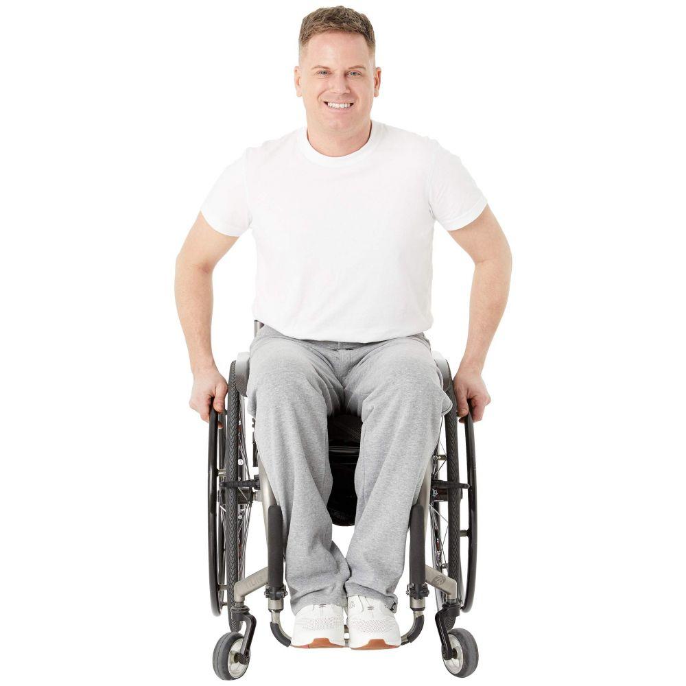 イズ アダプティブ IZ Adaptive メンズ ボトムス・パンツ【Seated Sweatpants Zip Fly】Grey