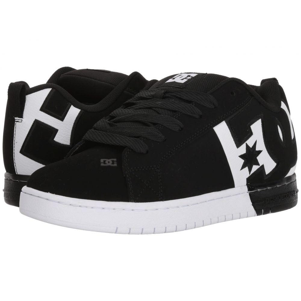 ディーシー DC メンズ シューズ・靴 スニーカー【Court Graffik SQ】Black/White/Black 2