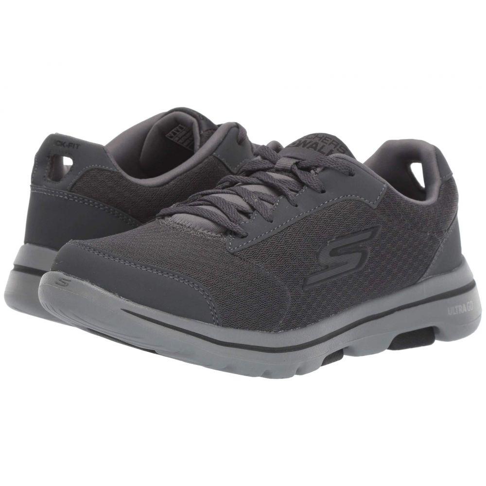 スケッチャーズ SKECHERS Performance メンズ シューズ・靴 スニーカー【Go Walk 5 - Qualify】Charcoal/Black