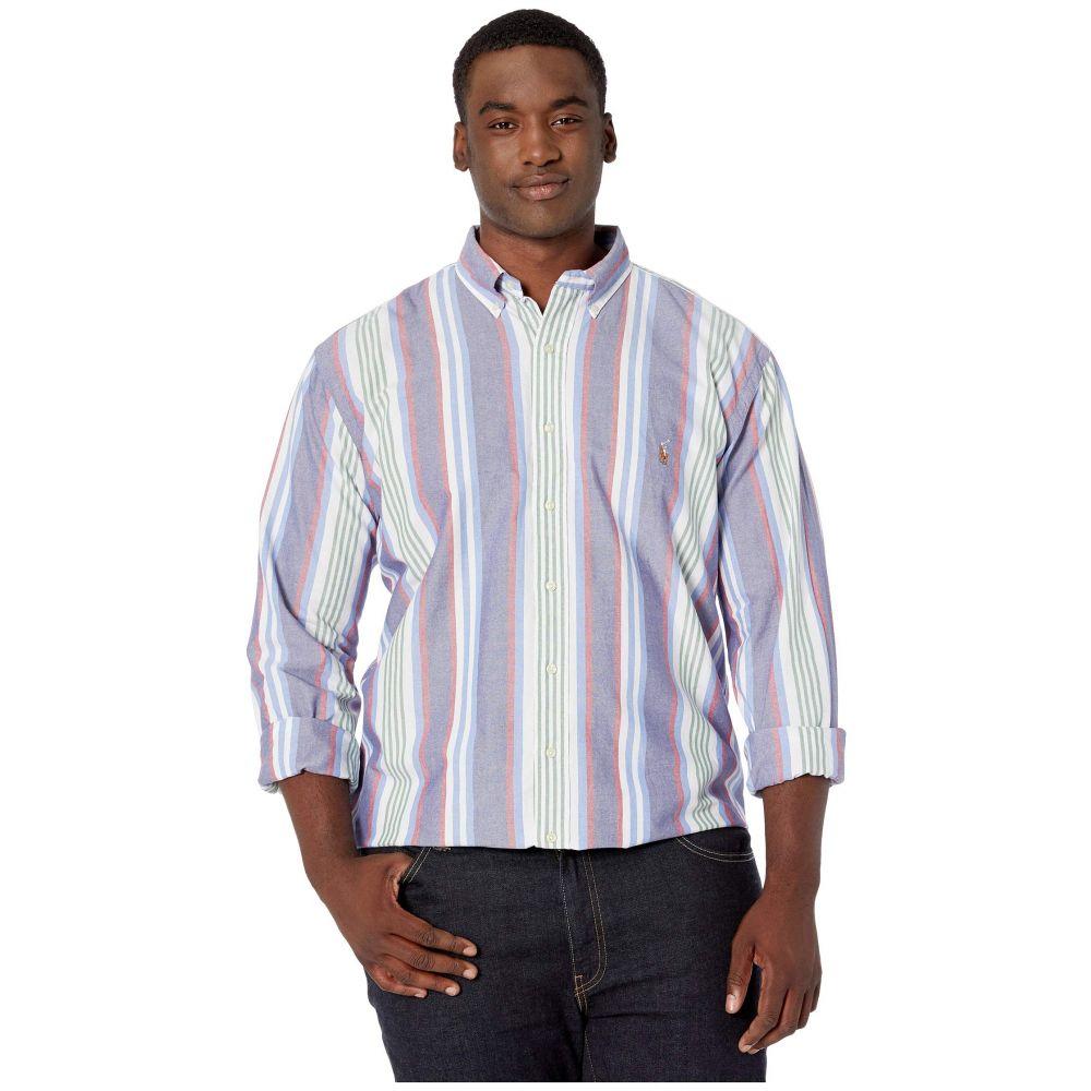 ラルフ ローレン Polo Ralph Lauren Big & Tall メンズ トップス シャツ【Big & Tall Long Sleeve Striped Oxford Shirt】Blue Multi
