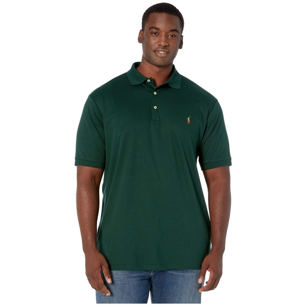 ラルフ ローレン Polo Ralph Lauren Big & Tall メンズ トップス ポロシャツ【Big & Tall Soft Touch Polo】College Green