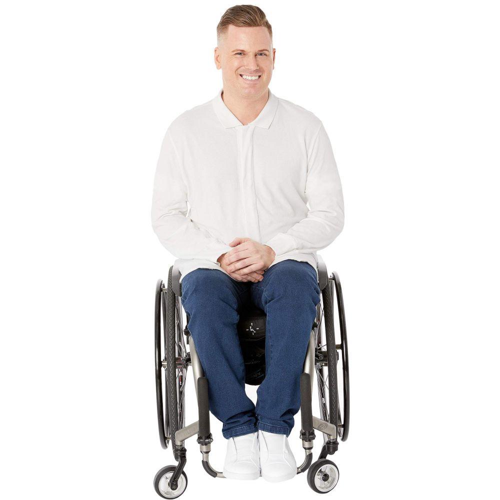アダプション Adaption メンズ トップス ポロシャツ【Adaptive Polo Shirt】White