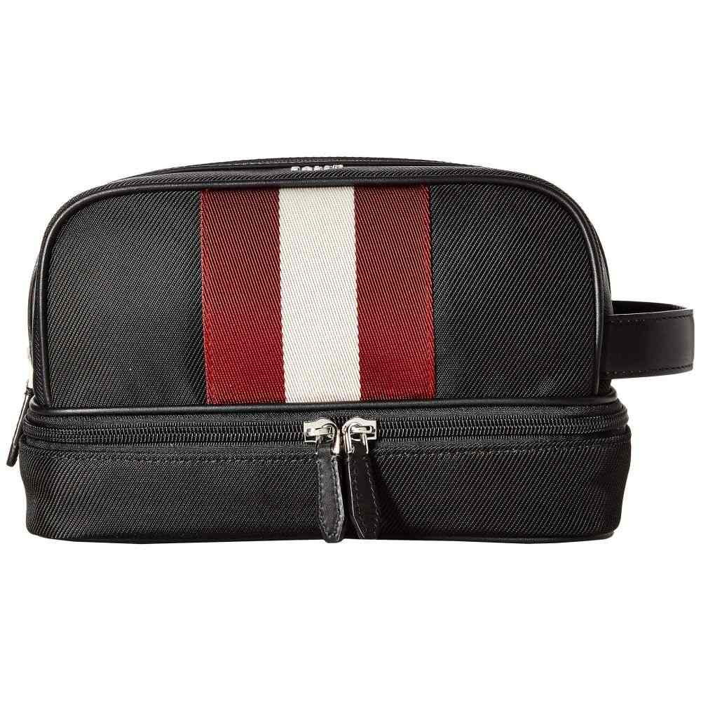 バリー Bally メンズ ポーチ【Brint Travel Kit】Black