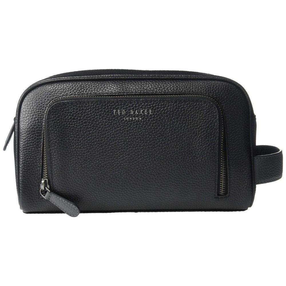 テッドベーカー Ted Baker メンズ ポーチ【Razor Leather Washbag】Black