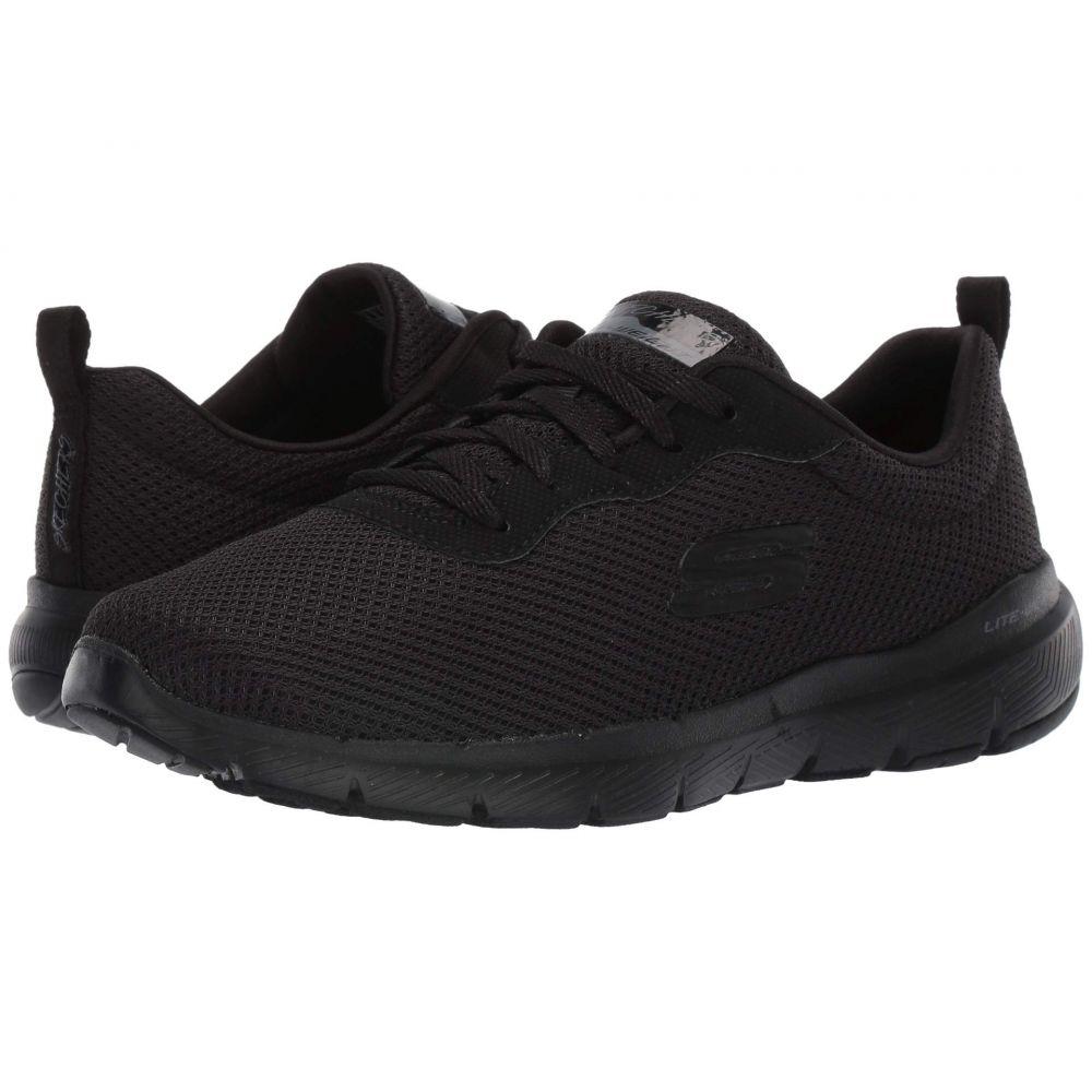 スケッチャーズ SKECHERS レディース シューズ・靴 スニーカー【Flex Appeal 3.0】Black