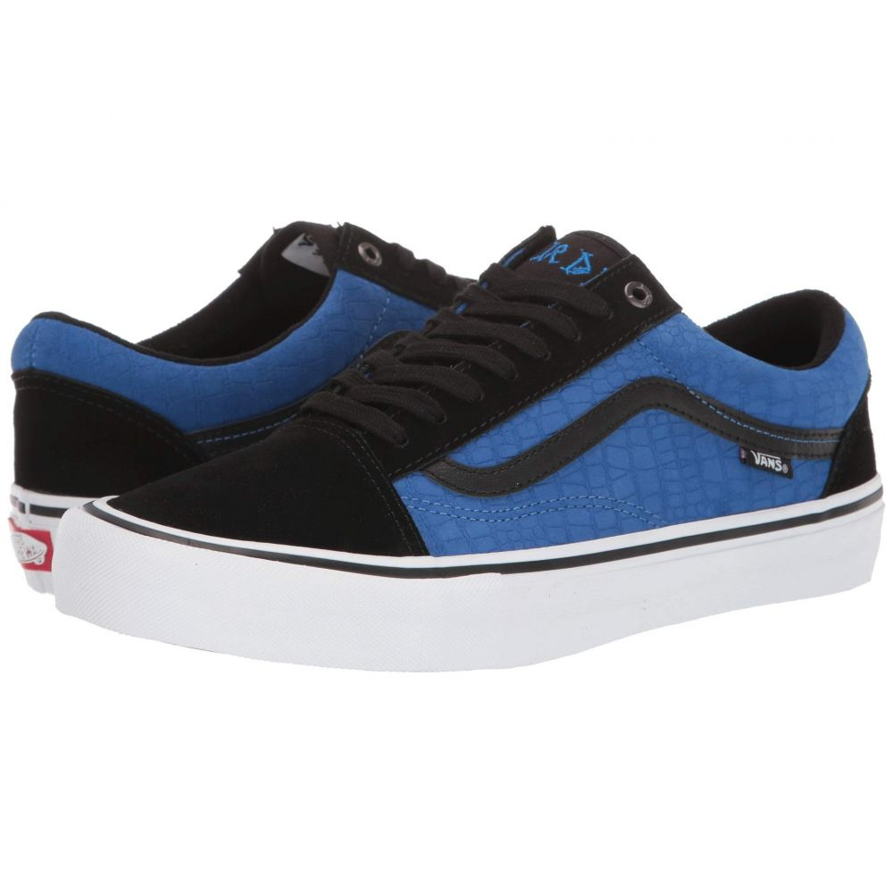 ヴァンズ Vans レディース シューズ・靴【Old Skool Pro】Rowan Zorilla) Black/Blue Croc