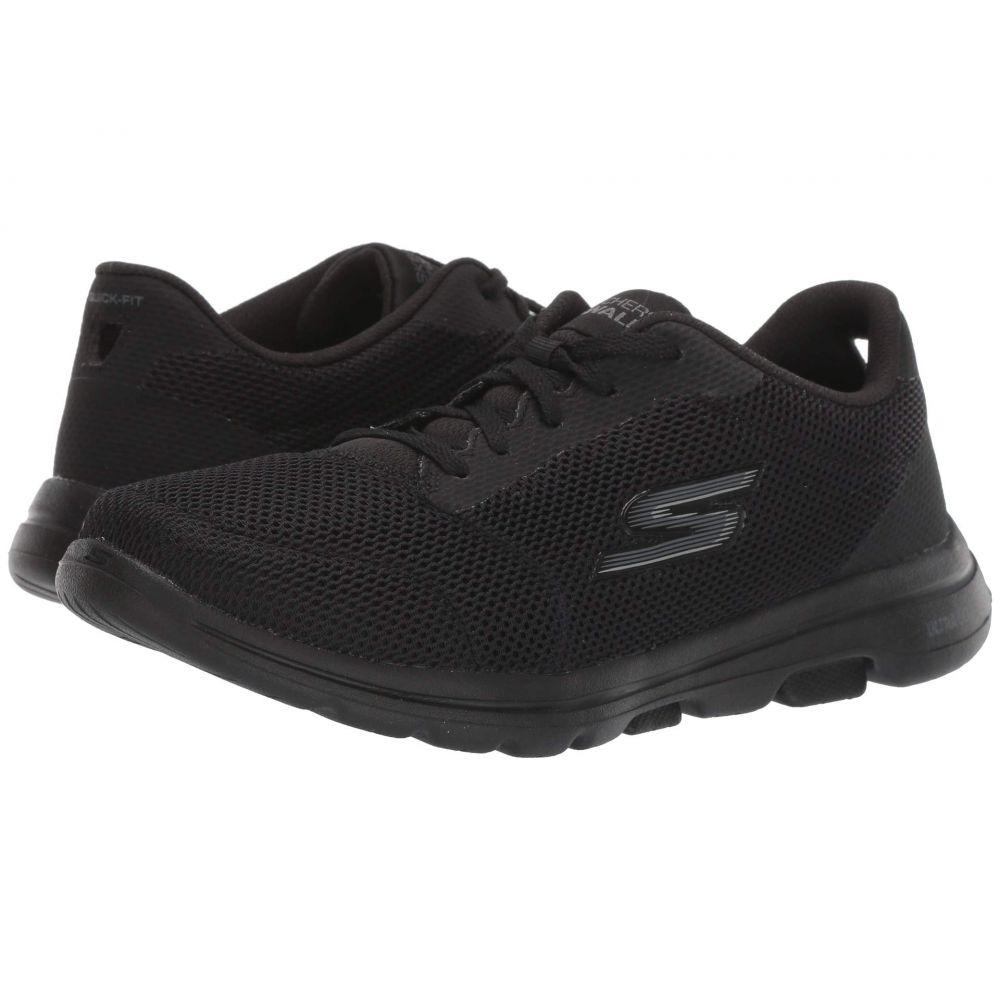 スケッチャーズ SKECHERS Performance レディース シューズ・靴【Go Walk 5 - Lucky】Black