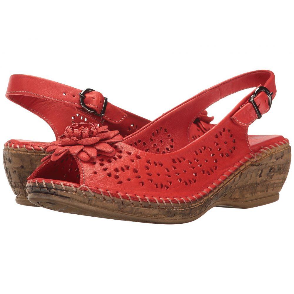 スプリングステップ Spring Step レディース シューズ・靴 ヒール【Belford】Red