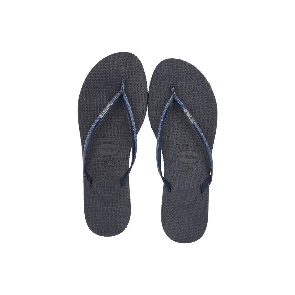ハワイアナス Havaianas レディース シューズ・靴 ビーチサンダル【You Jeans Sandal】Navy Blue