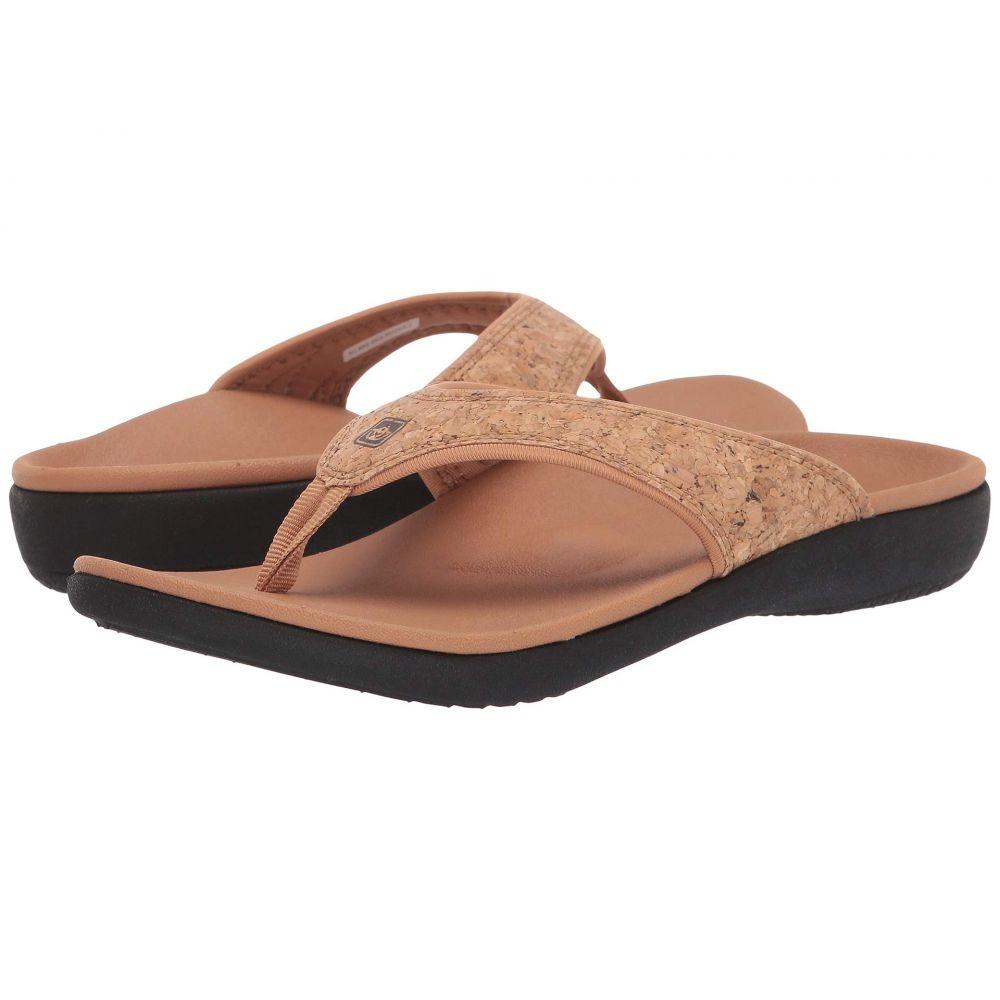 スペンコ Spenco レディース シューズ・靴 ビーチサンダル【Yumi 2 Cork】Natural Tan