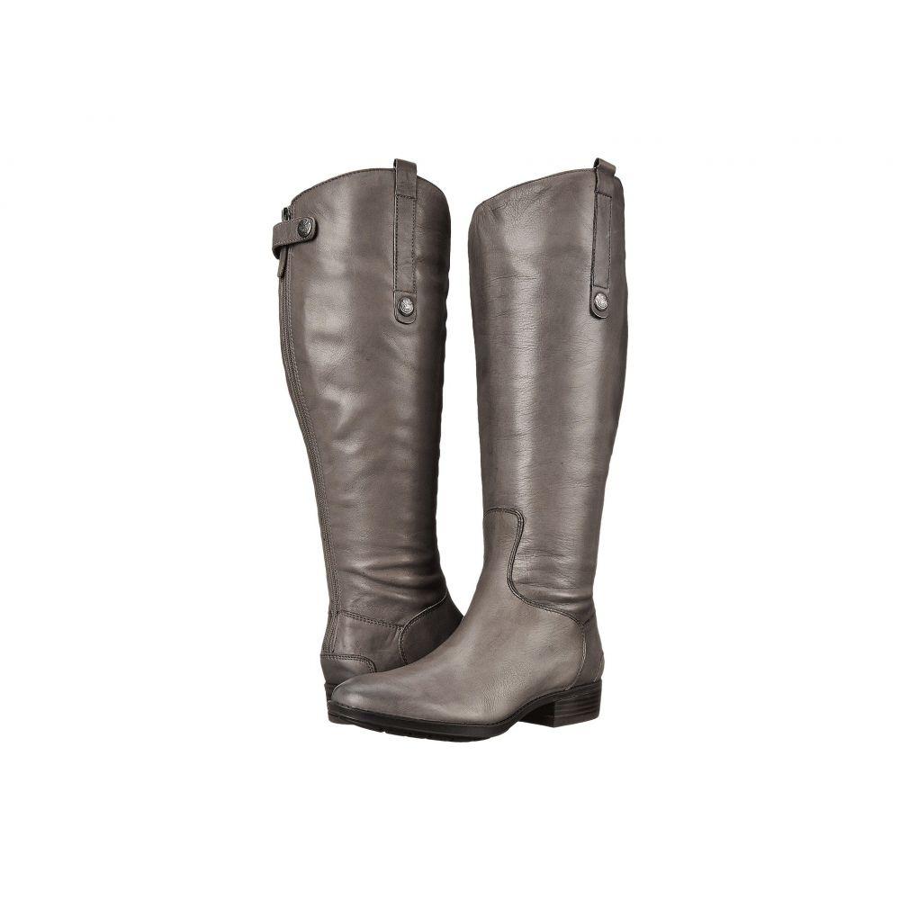 サム エデルマン Sam Edelman レディース シューズ・靴 ブーツ【Penny 2 Wide Calf Leather Riding Boot】Grey Frost