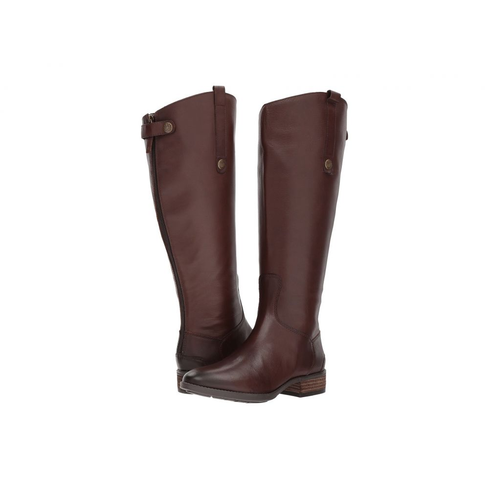 サム エデルマン Sam Edelman レディース シューズ・靴 ブーツ【Penny 2 Wide Calf Leather Riding Boot】Dark Brown Basto Crust Leather