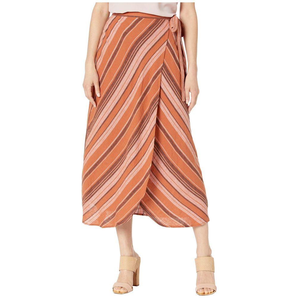 サンクチュアリ Sanctuary レディース スカート【Catching Rays Faux Wrap Skirt】Sierra Stripe