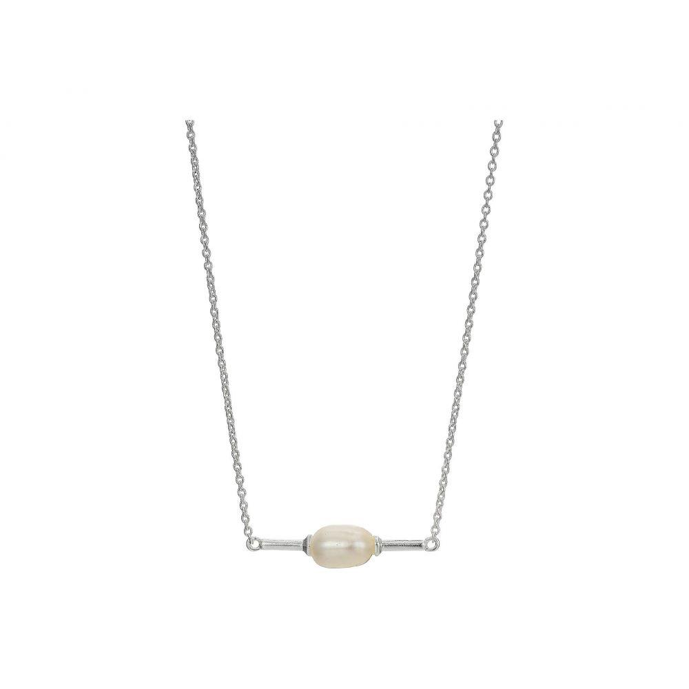 ケンドラ スコット Kendra Scott レディース ジュエリー・アクセサリー ネックレス【Emberly Necklace】Bright Silver Baroque Pearl