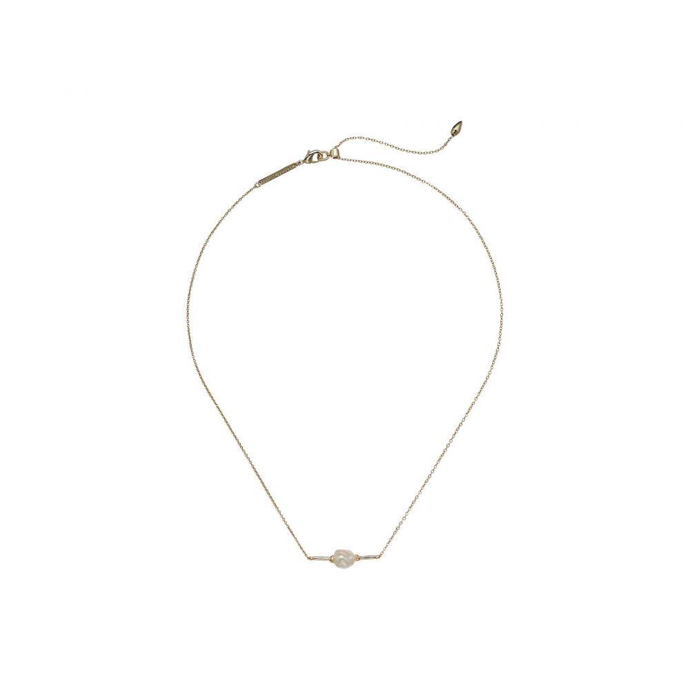 ケンドラ スコット Kendra Scott レディース ジュエリー・アクセサリー ネックレス【Emberly Necklace】Gold Baroque Pearl