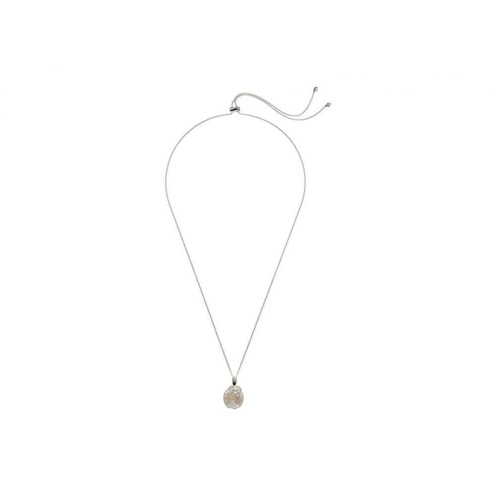 ケンドラ スコット Kendra Scott レディース ジュエリー・アクセサリー ネックレス【Priscilla Necklace】Bright Silver Baroque Pearl