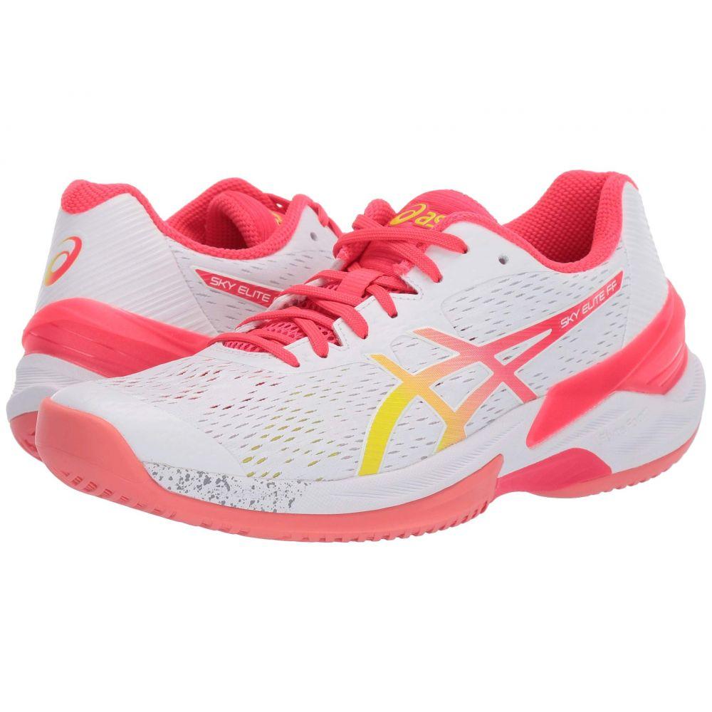 アシックス ASICS レディース バレーボール シューズ・靴【Sky Elite FF】White/Laser Pink