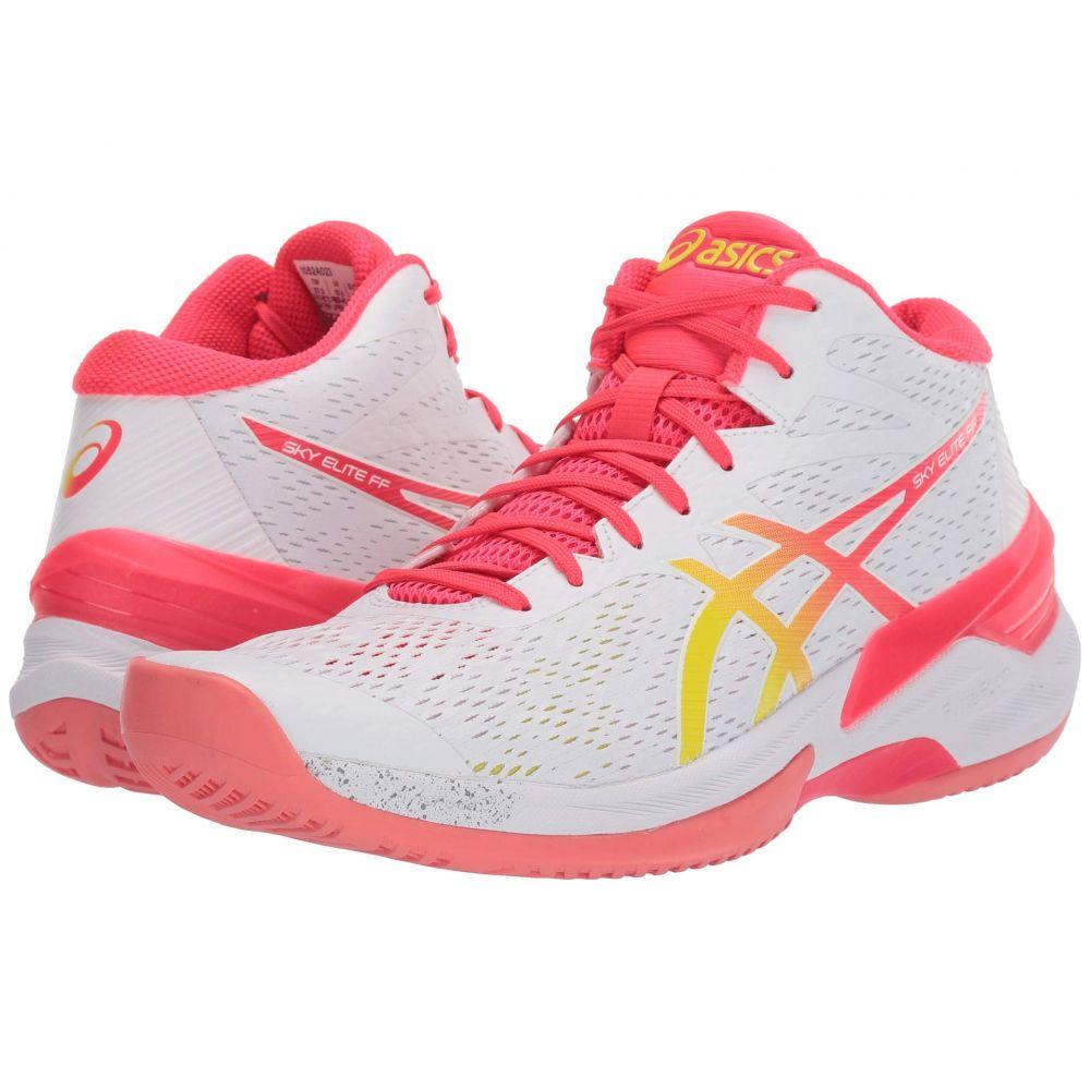 アシックス ASICS レディース バレーボール シューズ・靴【Sky Elite FF MT】White/Laser Pink