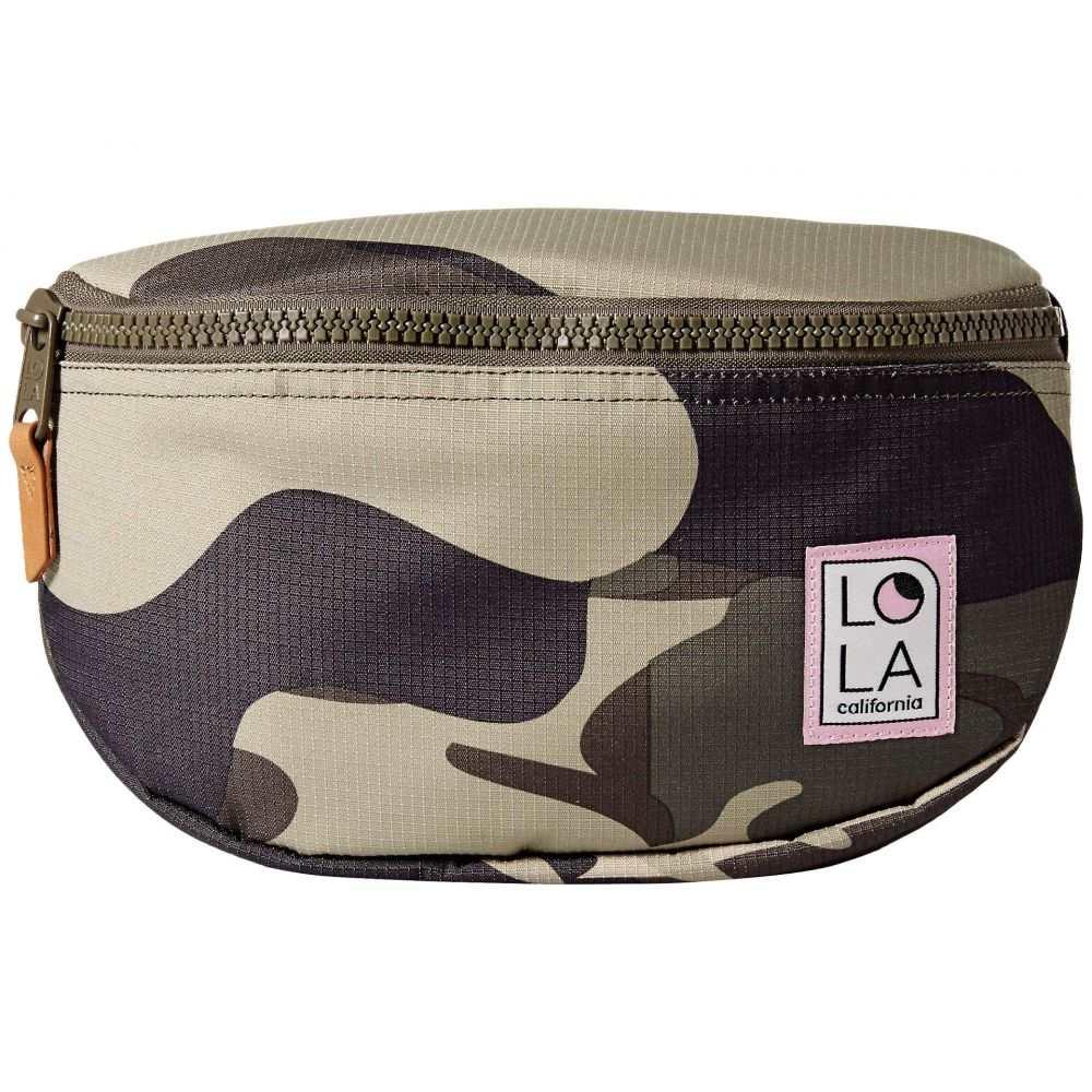 ローラ LOLA レディース バッグ ボディバッグ・ウエストポーチ【Moonbeam Large Bum Bag】Camo