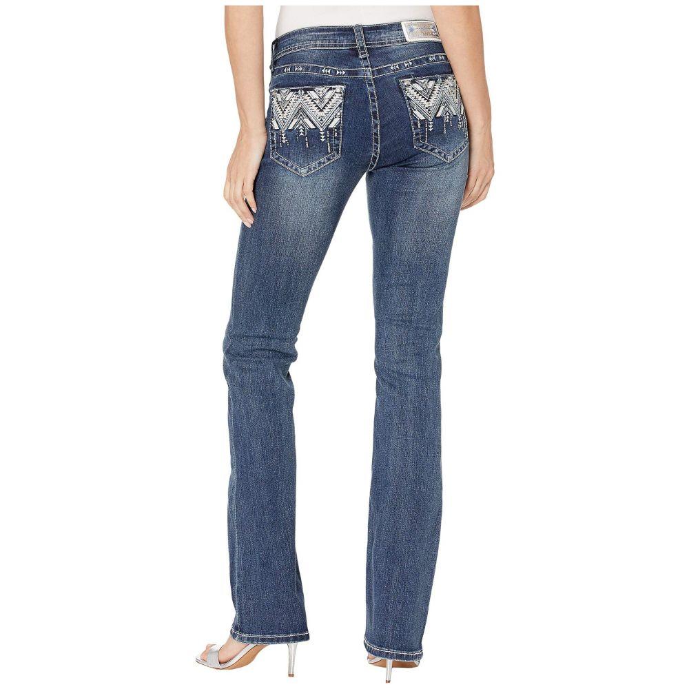 グレース イン LA Grace in LA レディース ボトムス・パンツ ジーンズ・デニム【Aztec Embellished Jeans in Dark Blue】Dark Blue