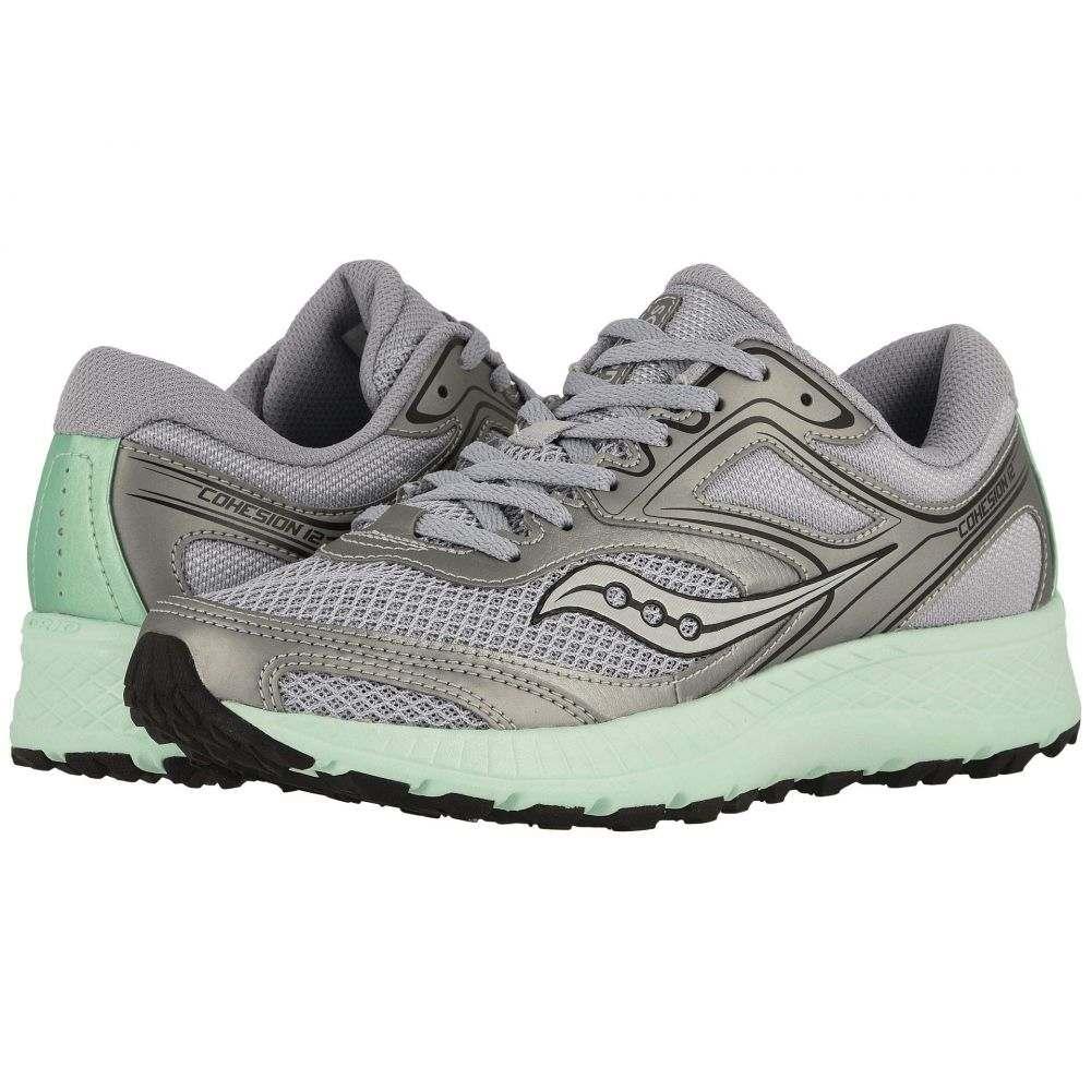 サッカニー Saucony レディース ランニング・ウォーキング シューズ・靴【Versafoam Cohesion TR12】Gray/Aqua