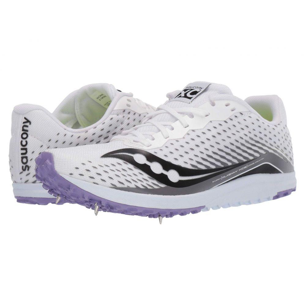 サッカニー Saucony レディース ランニング・ウォーキング シューズ・靴【Kilkenny XC8】White/Purple