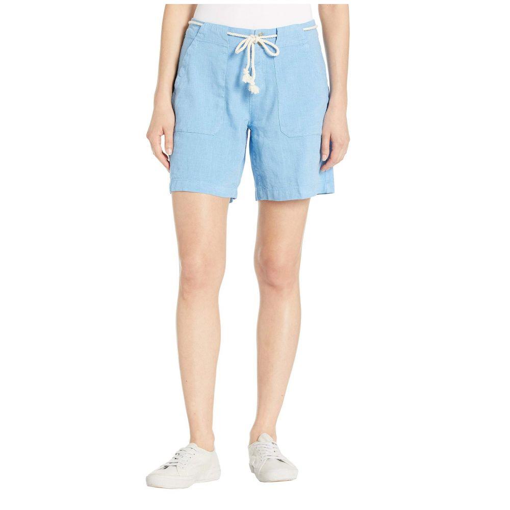 フレッシュプロデュース Fresh Produce レディース ボトムス・パンツ ショートパンツ【Del Mar Linen Shorts】Bayside Blue