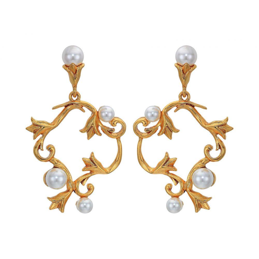 オスカー デ ラ レンタ Oscar de la Renta レディース ジュエリー・アクセサリー イヤリング・ピアス【Pearl Tulip P Earrings】Gold