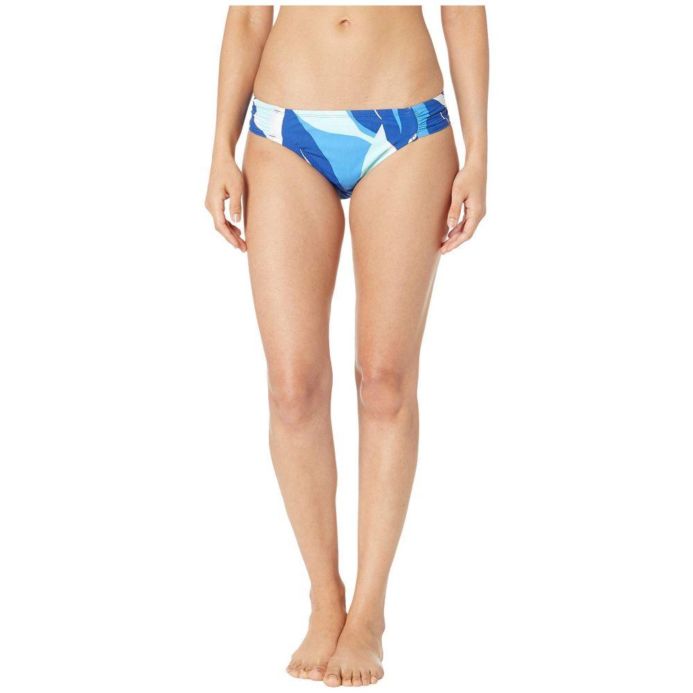 ラブランカ La Blanca レディース 水着・ビーチウェア ボトムのみ【Palm Reader Side Shirred Hipster Bottoms】Blue Multi