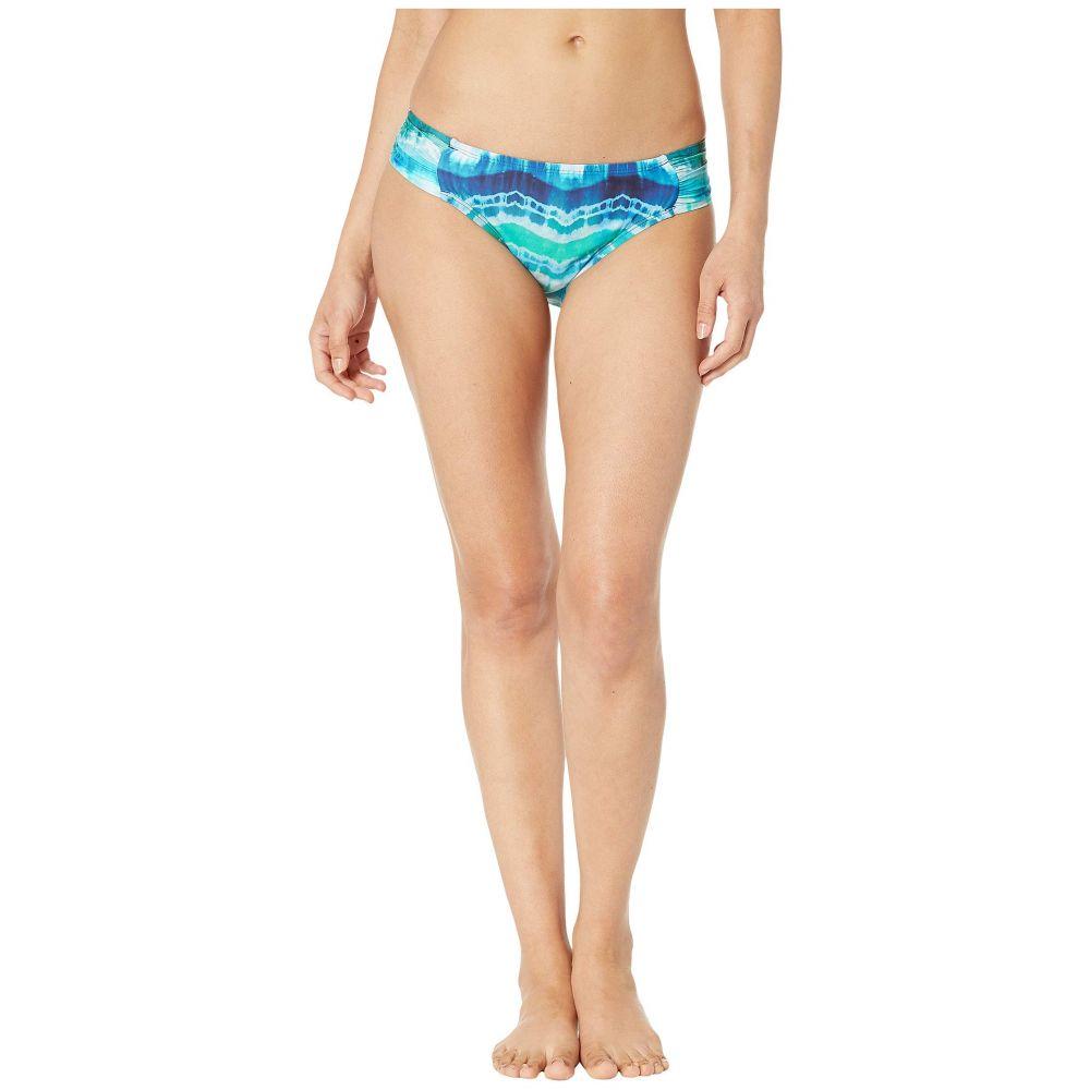 ラブランカ La Blanca レディース 水着・ビーチウェア ボトムのみ【Global Tie-Dye Side Shirred Hipster Bottoms】Blue Multi
