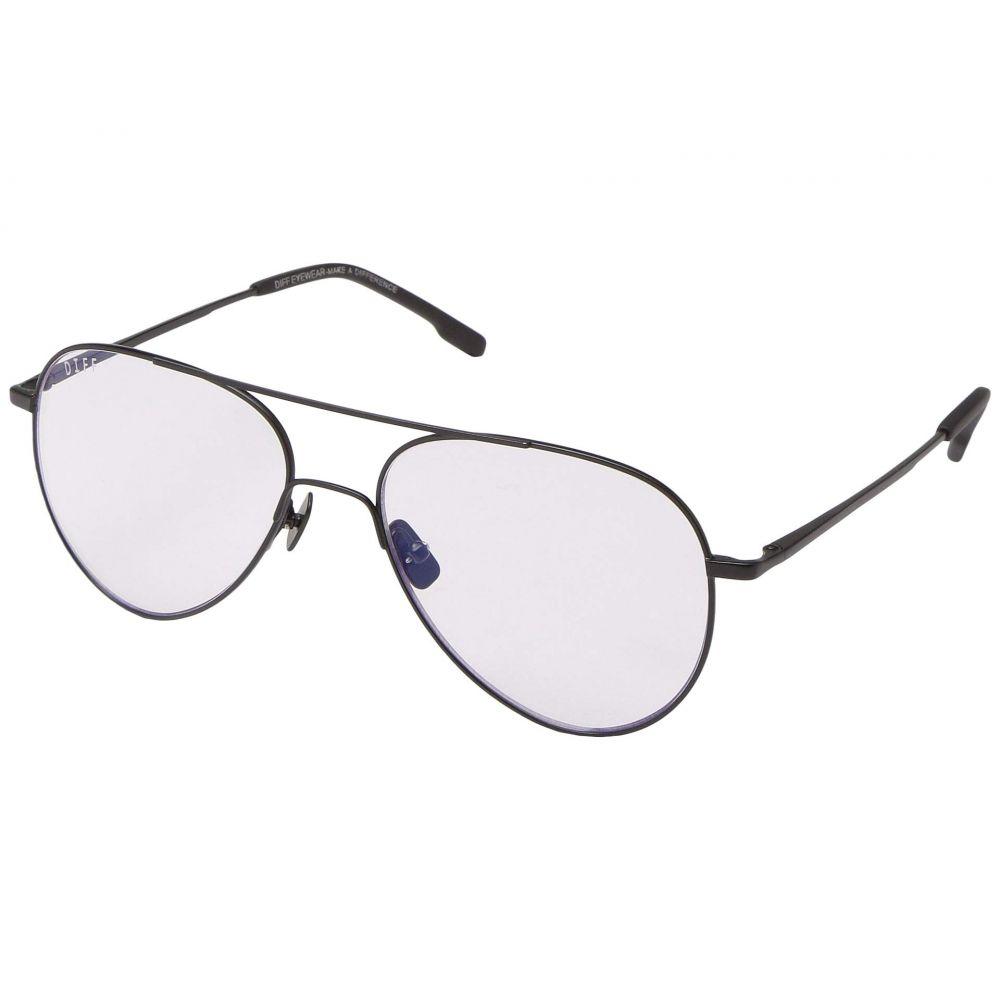 ディフアイウェア DIFF Eyewear レディース メガネ・サングラス【Karter Blue Light】Black