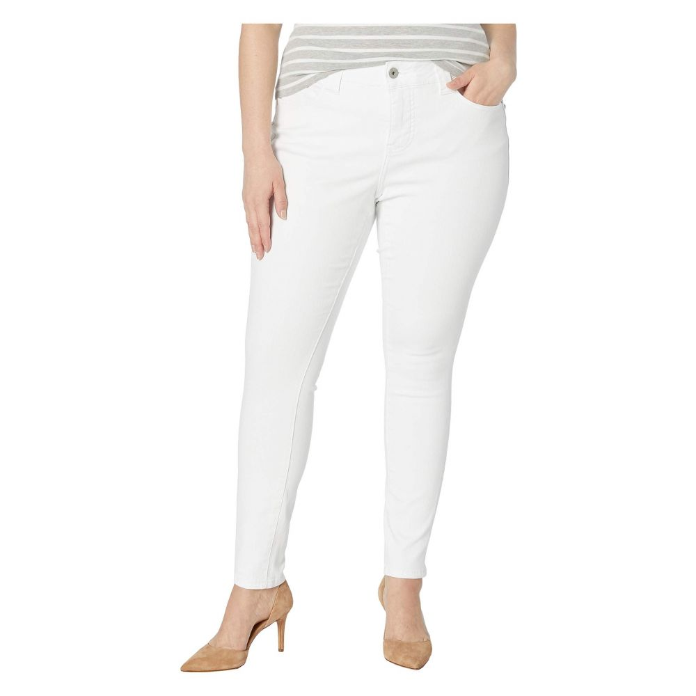 ジャグ ジーンズ Jag Jeans Plus Size レディース ボトムス・パンツ ジーンズ・デニム【Plus Size Cecilia Skinny Jeans】White