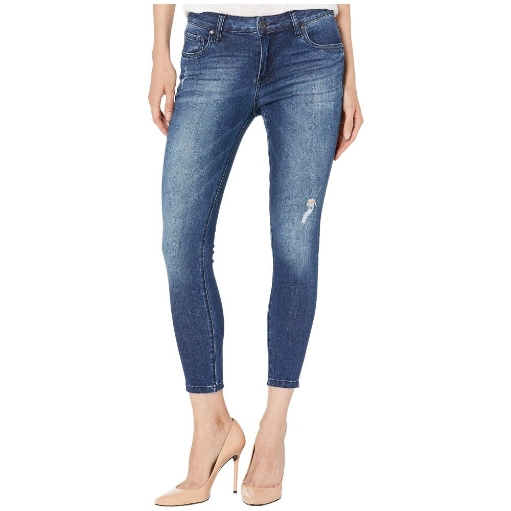 カットフロムザクロス KUT from the Kloth レディース ボトムス・パンツ ジーンズ・デニム【Petite Donna Ankle Jeans with Raw Edge Hem in Daydream Wash】Daydream Wash