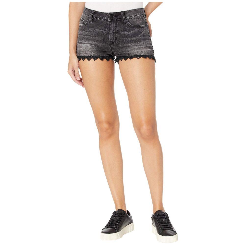 ミス ミー Miss Me レディース ボトムス・パンツ ショートパンツ【Lace Bottom Shorts】Black