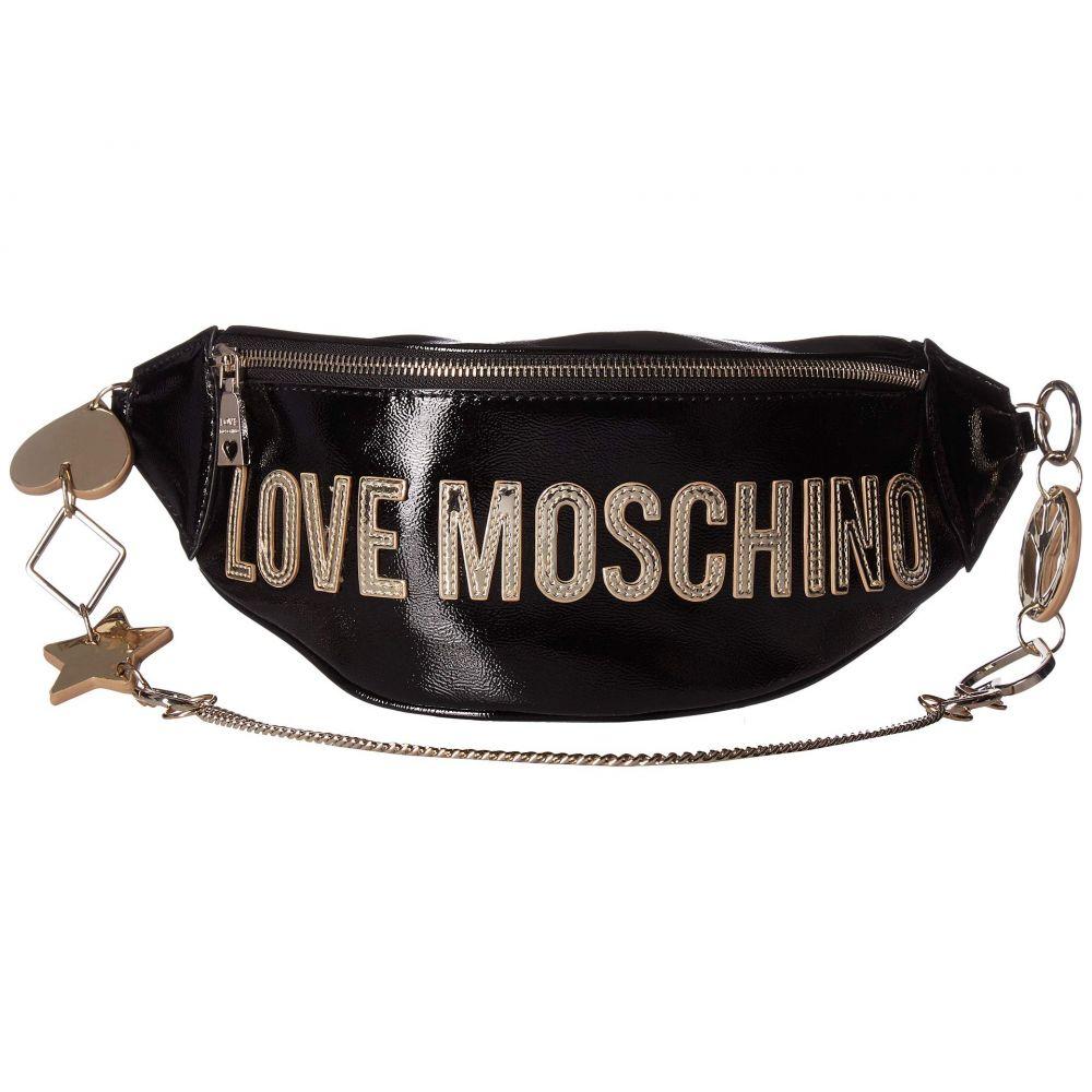 モスキーノ LOVE Moschino レディース バッグ ボディバッグ・ウエストポーチ【Logo Belt Bag】Nero